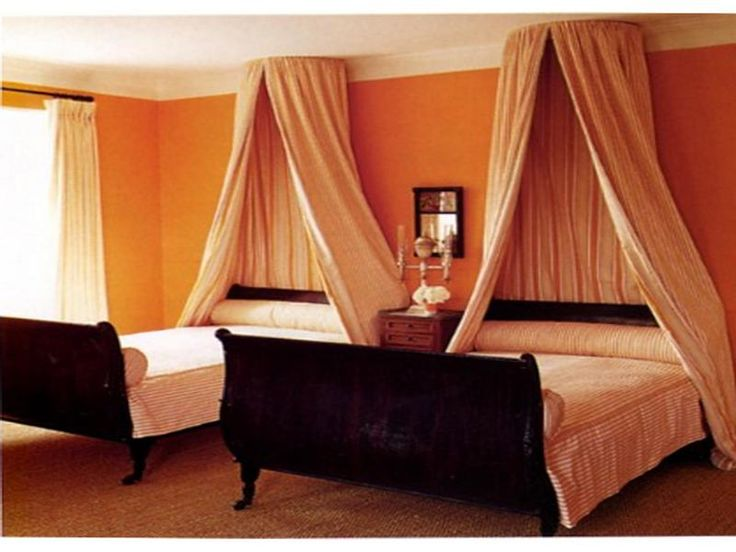 double bed canopy ideas bedroom pinterest