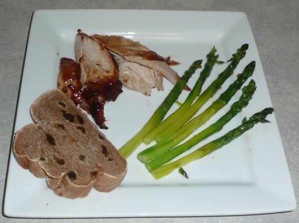 Apricot & Balsamic Glazed Turkey Breast | Healthy Chicken & Turkey Di...