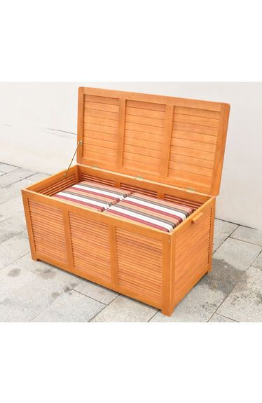 Outdoor cushion storage box for Storage for outdoor patio cushions