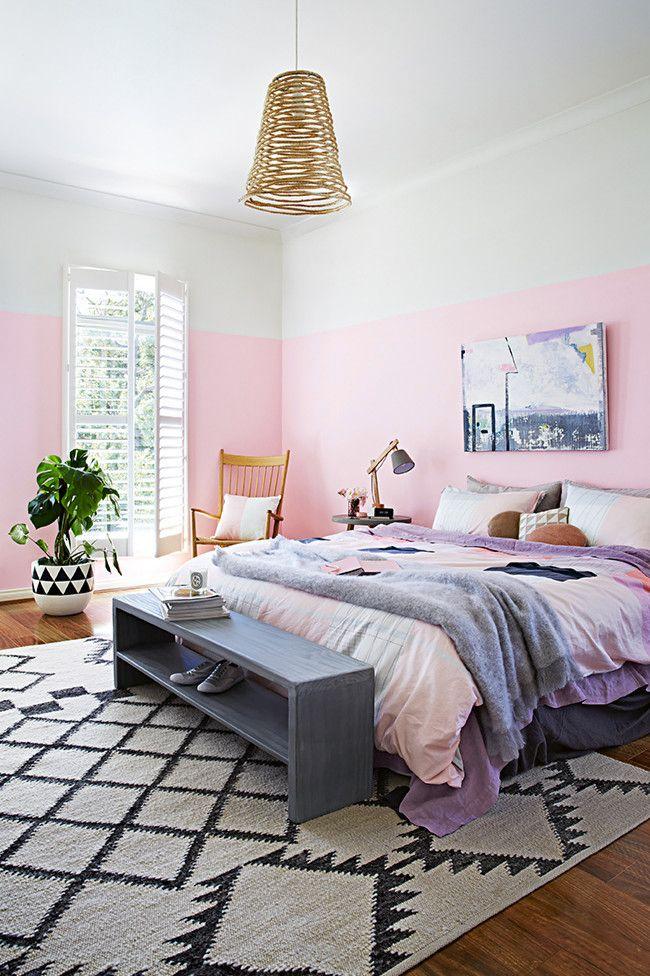 עיצוב חדר שינה, עיצוב הבית, רעיונות לעיצוב הבית, צבע לקיר, עיצוב פנים, הום סטיילינג