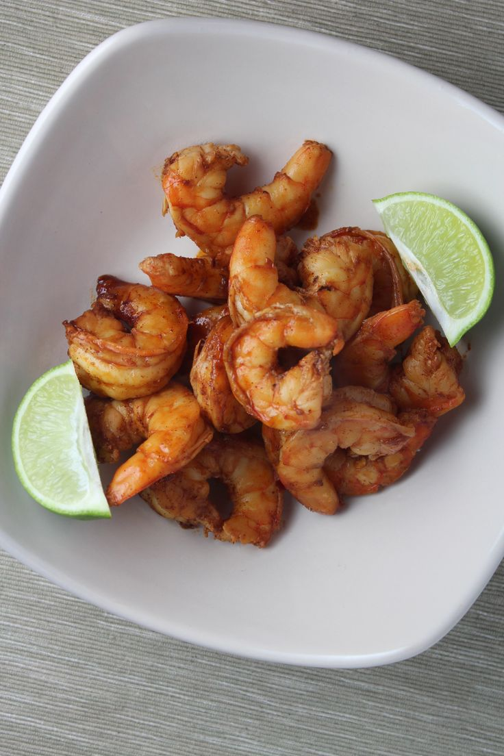 Chili-Lime-Garlic Grilled Shrimp - these would be amazing in a taco!