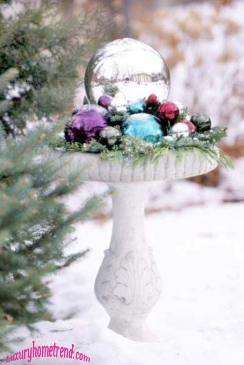 40 Trendy Outdoor Christmas Decorations  Christmas ideas  Pinterest