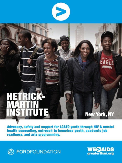 Hetrick-Martin Institute | Let's Fight HIV/AIDS Together | Pinterest