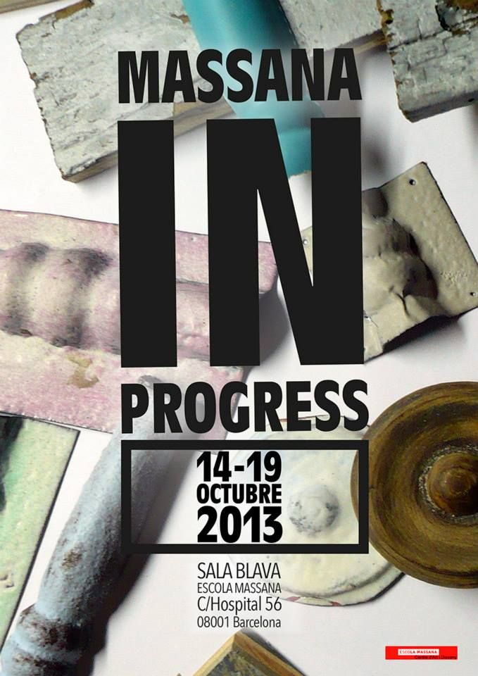 "OFF JOYA : Escola Massana presents ""Massana in Progress"""