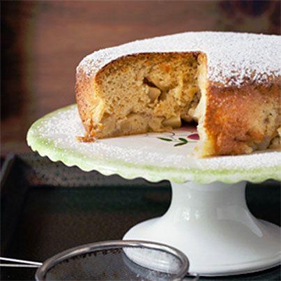 Russian Apple Spice Cake Sharlotka Recipe — Dishmaps