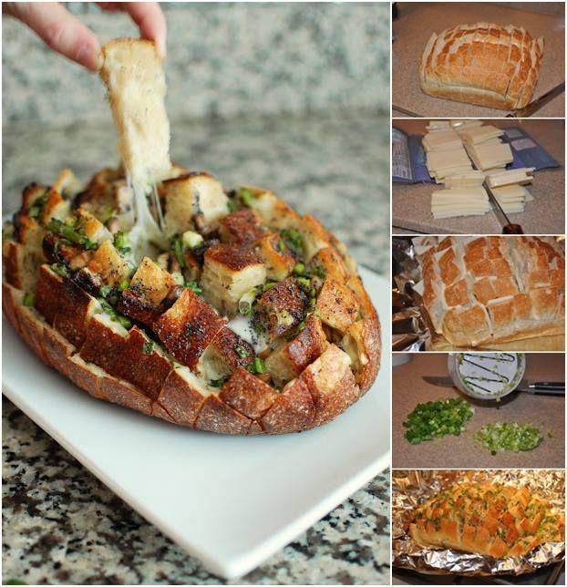 Cheesy Pull Apart Bread | Yummmmm | Pinterest