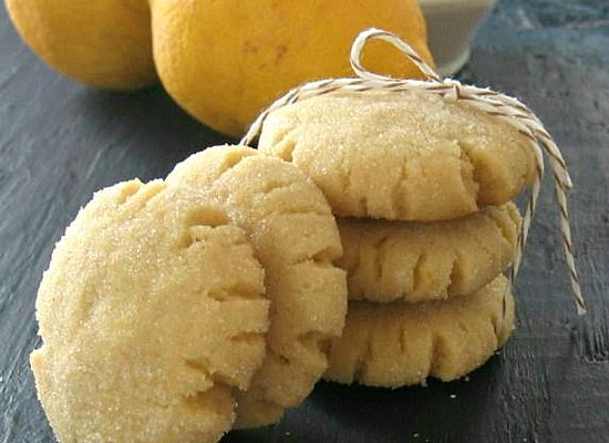 Lemon and Thyme Olive Oil Cookies