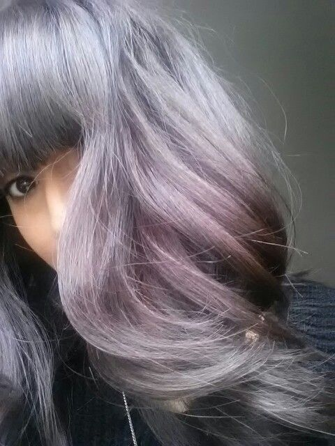 Love my new bluish purple hair Bluish Purple Hair