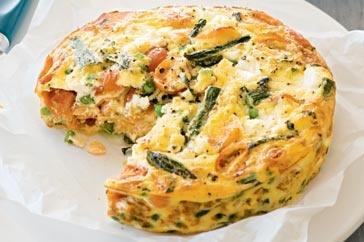 Asparagus Frittata | Healthy Foods | Pinterest