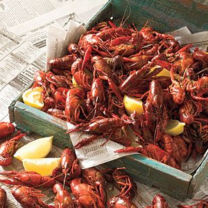 How To Eat Boiled Crawfish | Recipes | SouthernLiving.com