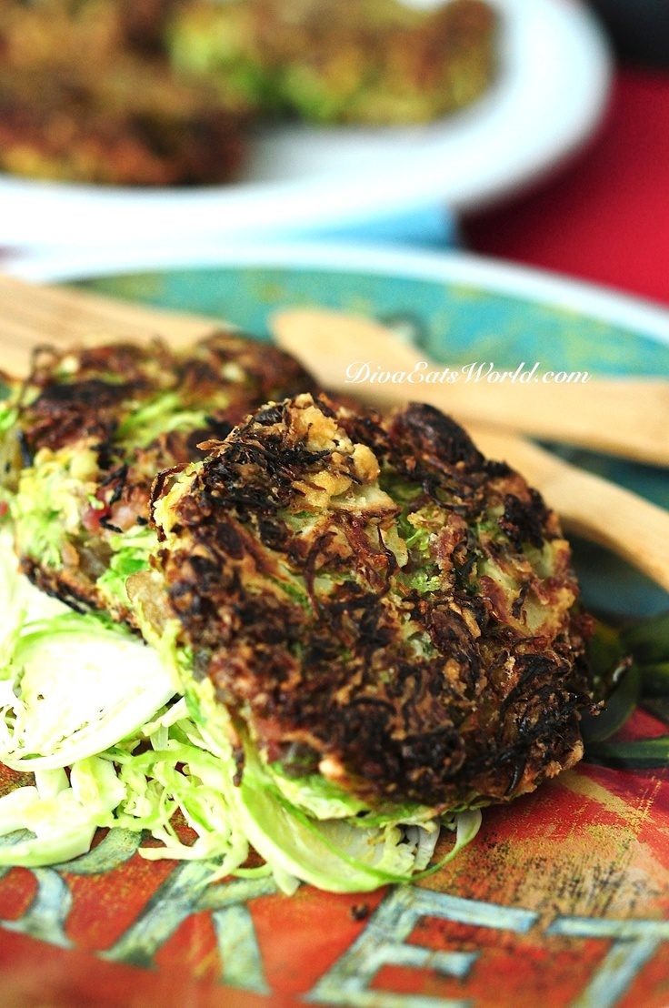 Brussel Sprout, Bacon & Raisin Fritters | brussels sprout love | Pint ...