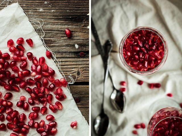 Pomegranate White Wine Panna Cotta | what i'm cooking | Pinterest