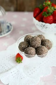 ... Recipes . Taste Of Home: Strawberry Soya Protein Balls with Chia Seeds