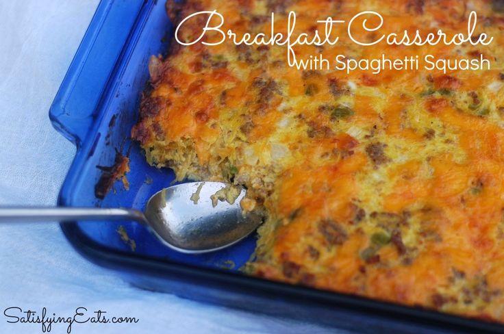 Spaghetti Squash | This recipe is the ultimate breakfast casserole ...