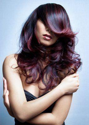 Violet Red Highlights