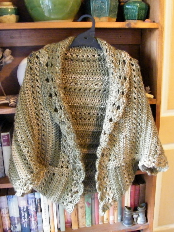 Crochet X Stitch Shrug : ... crocheting/Clothing/Crochet-X-Stitch-Shrug/16753 and the edging
