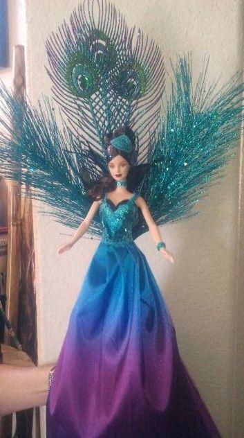 Barbie doll christmas tree topper love barbie pinterest