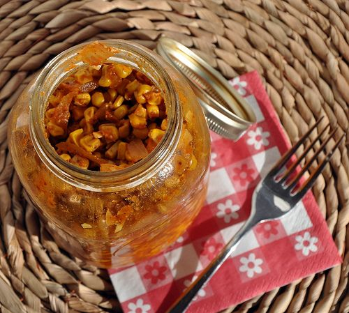 pickled corn.   pickles.   Pinterest