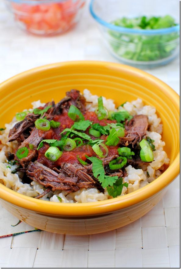 Mexican Braised Beef - I'm thinking it will be good as an ingredient ...