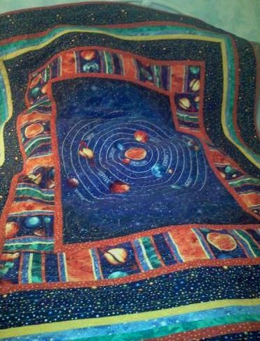 Pin by jackie laba on in stitches pinterest for Solar system quilt pattern