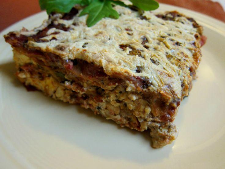 Vegan Roasted Vegetable Lasagna | Savoury Recipes | Pinterest