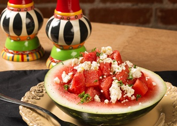 Watermelon and Feta Salad | Recipies to Try | Pinterest