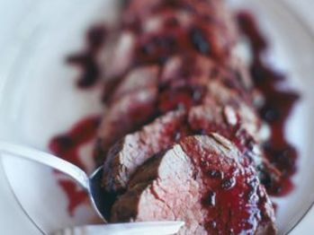 Beef Tenderloin with Shallot and Syrah Reduction - this is our ...