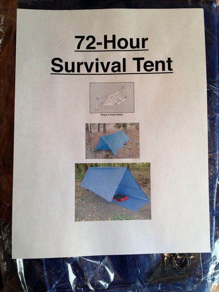 Zombie Apocalypse Bug Out Shelter : Bug out bag survival shelter emergency doomsday prepper