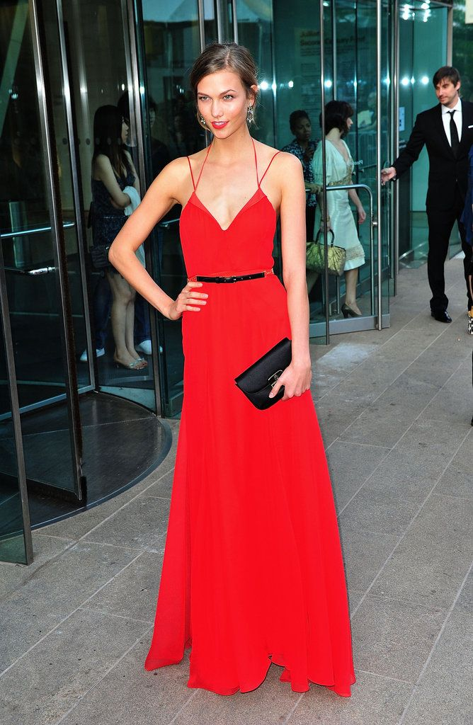 CFDA Awards Best Dresses: Karlie Kloss's style evolution happened with the whole fashion world watching. She nailed it in 2011 with a bold red Jason Wu dress