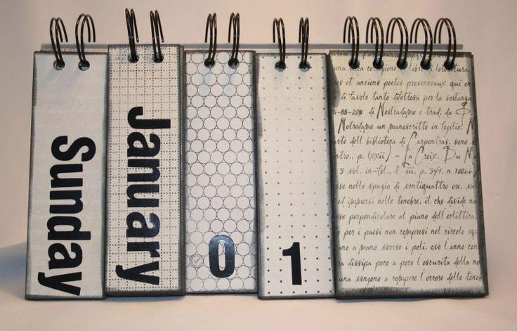 Diy Flip Calendar : Another perpetual calendar calender ideas pinterest