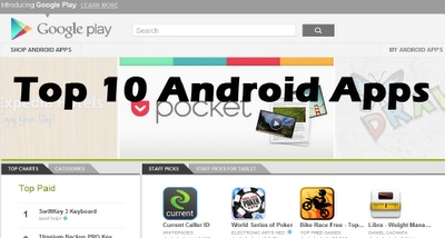 top 10 android apps download sites
