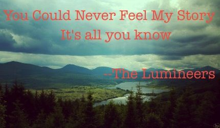 Scotland by the lumineers such a cool song