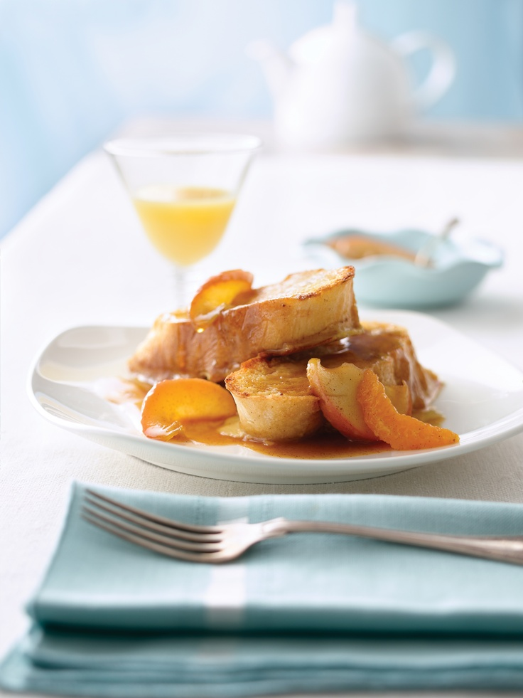 ... in Nova Scotia!! Baked Orange Pecan French Toast from FoodNetwork.com