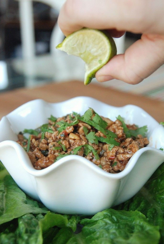 "lettuce wraps from the ""ass friendly"" section of this blog... she&#..."