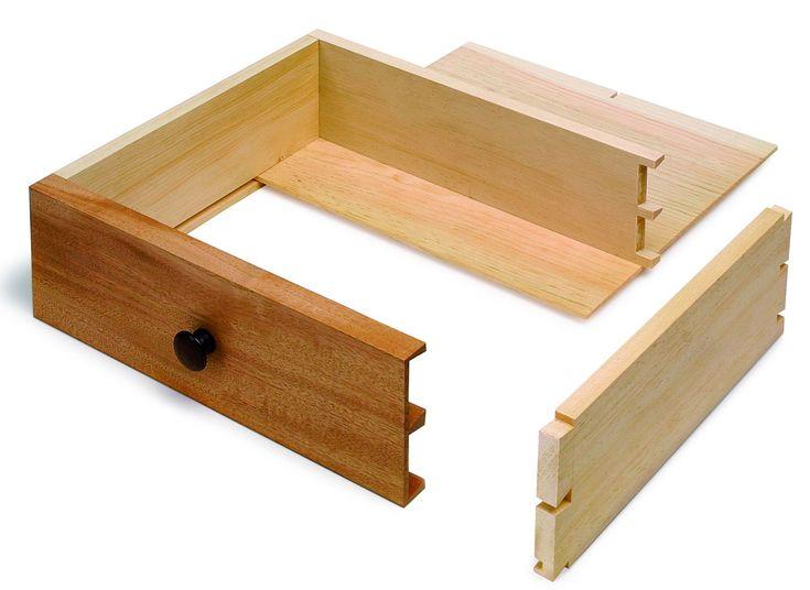 Original woodworking joints for drawers egorlin