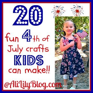 4th of July crafts for the kiddos