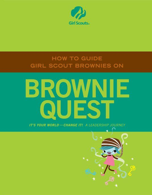 Adult - Brownie Quest | Girl Scouts - Brownies | Pinterest