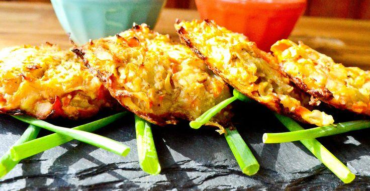 Root Vegetable Latkes - Chef Richard and Katie