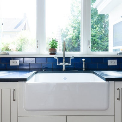 Blue Farmhouse Sink : white. blue. farmhouse sink. For the Home Pinterest