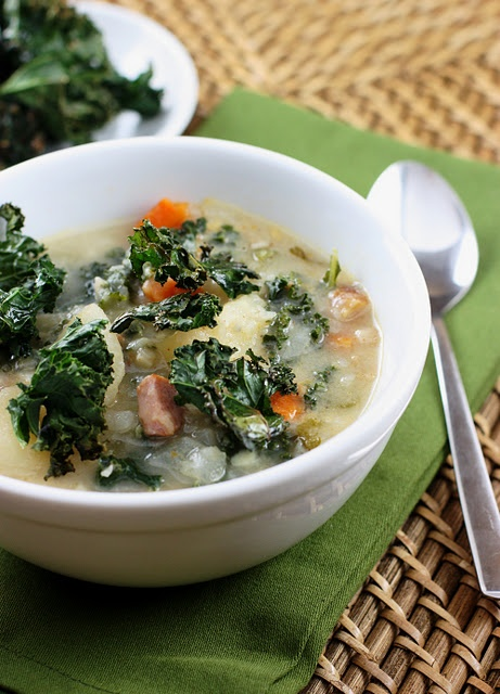 Smoky Potato Soup with Kale | Cooking | Pinterest