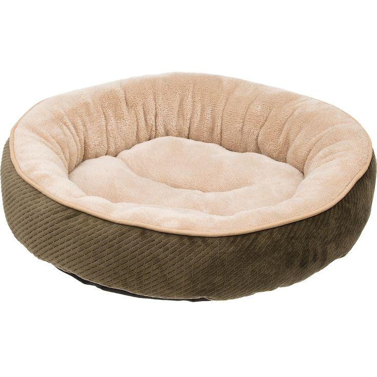 "Petco Textured Round Cat Bed in Fern, 20"" Diameter"