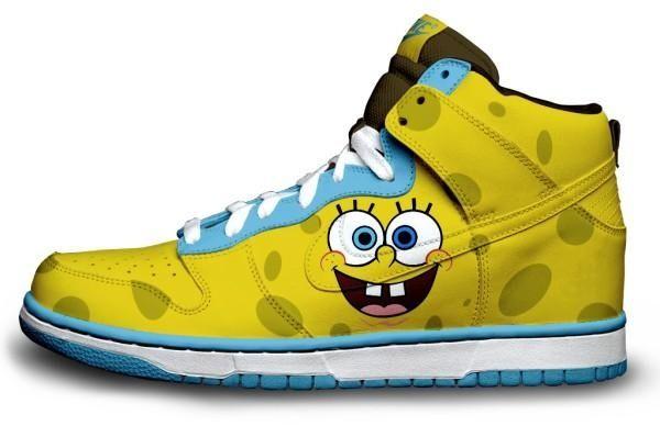 spongebob shoes shoes and sport
