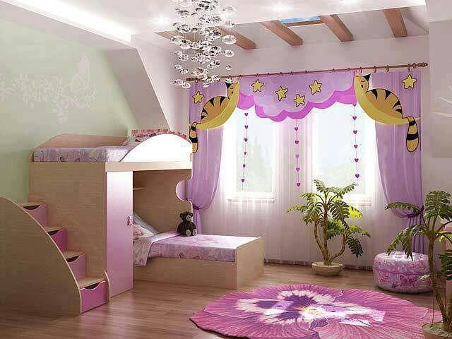 Cute kids room for the home pinterest - Images of kiddies decorated room ...