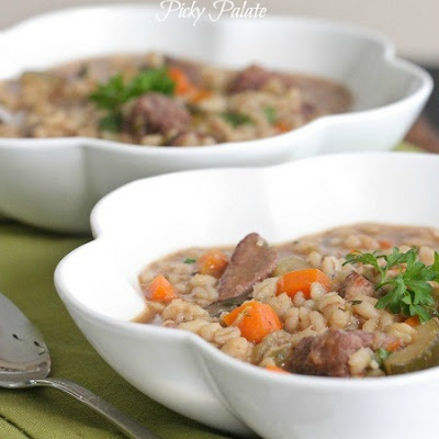Slow Cooker Beef and Barley Soup | Recipes: Soups | Pinterest
