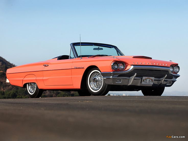 1964 ford thunderbird vroom vroom pinterest. Cars Review. Best American Auto & Cars Review