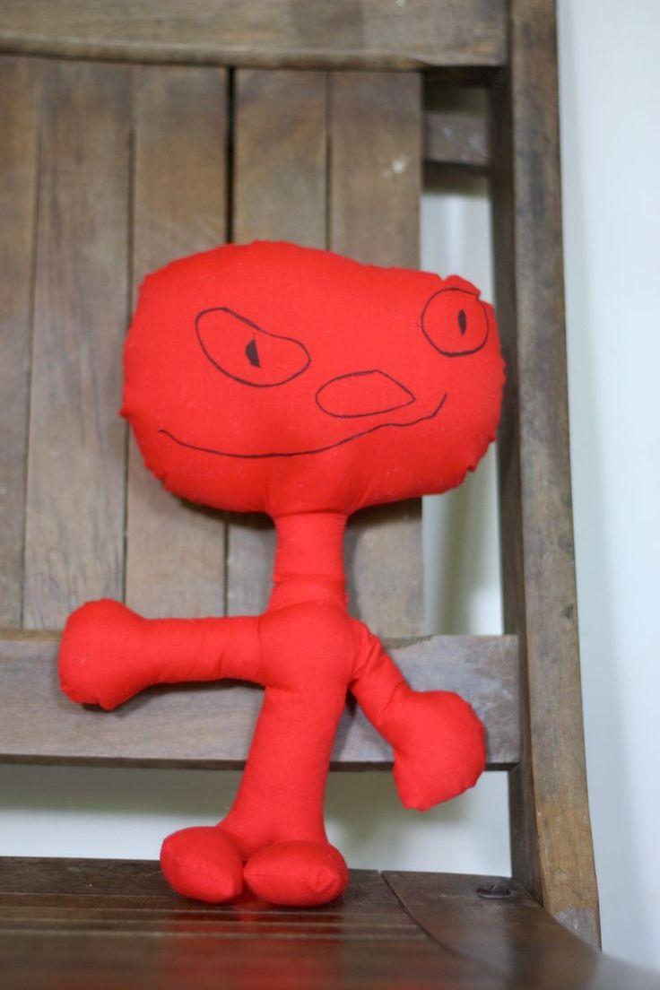 Homemade Stuffed Animals--Kid designed and sewn.