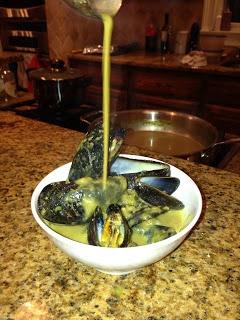 Southern Kismet: Saffron Mussels Stew | Modern Spice & my other books ...