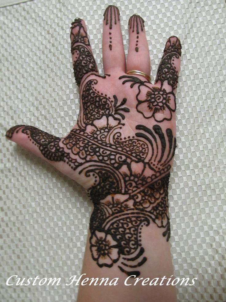 Mehndi Designs Please : Indo arabic mehndi henna design pinterest