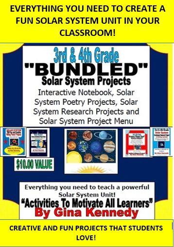 teaching 4th grade solar system - photo #24