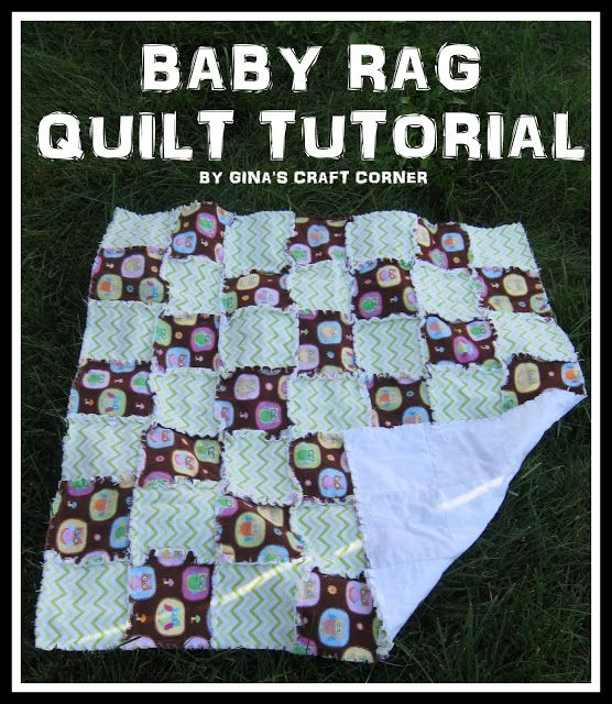 Baby rag quilt tutorial quilts quilts amp more quilts pinterest
